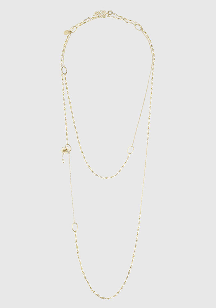 Charleston Small long necklace - Pearl