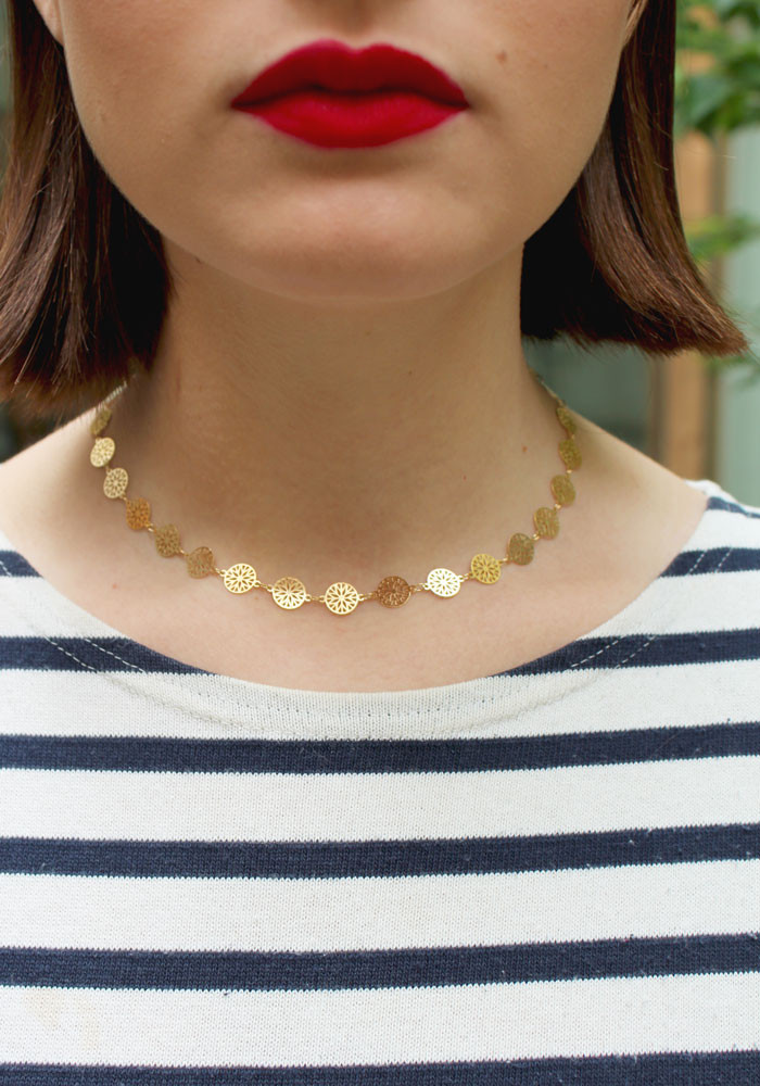Rosa necklace small