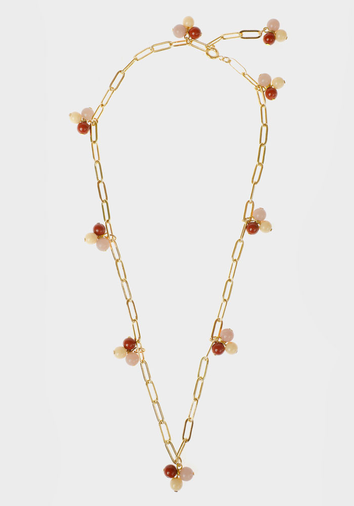 Wildberry necklace Pink