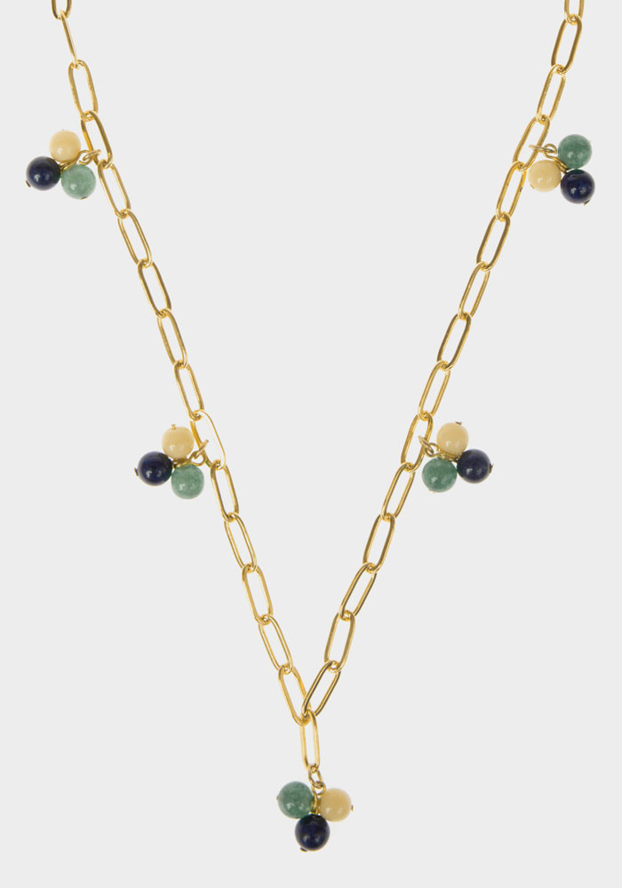 Wildberry necklace Green