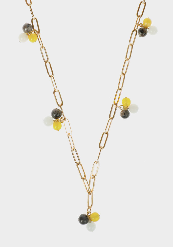 Wildberry necklace Yellow