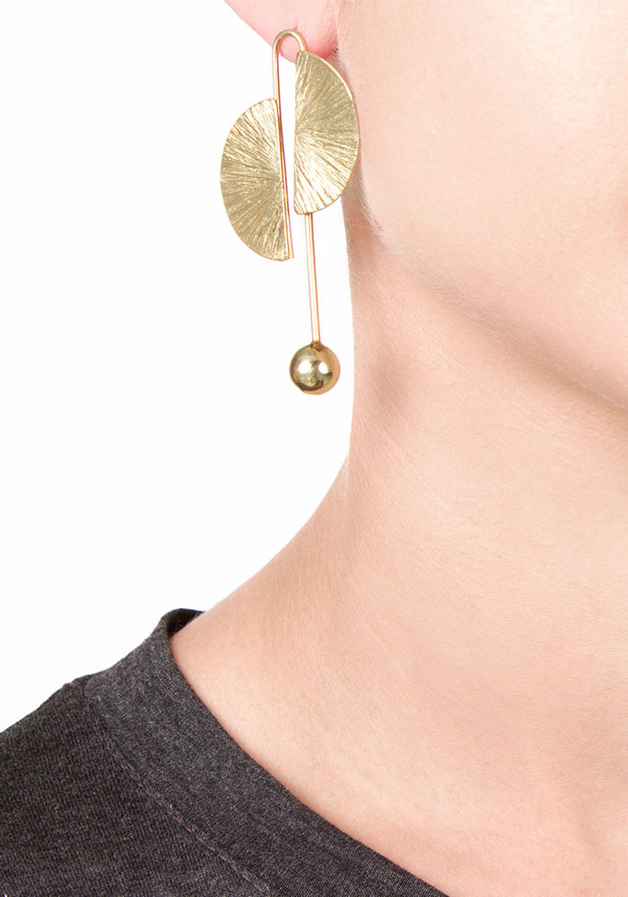 Rivoli earrings maxi