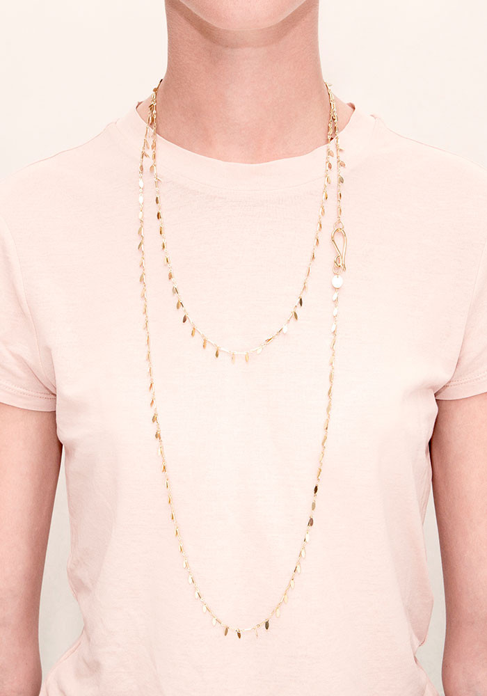 Garrigue long necklace