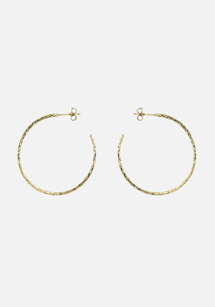 Master hoop earrings maxi