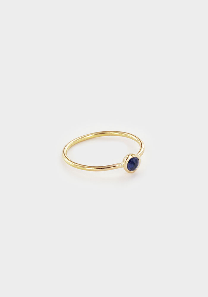Rose sapphire ring