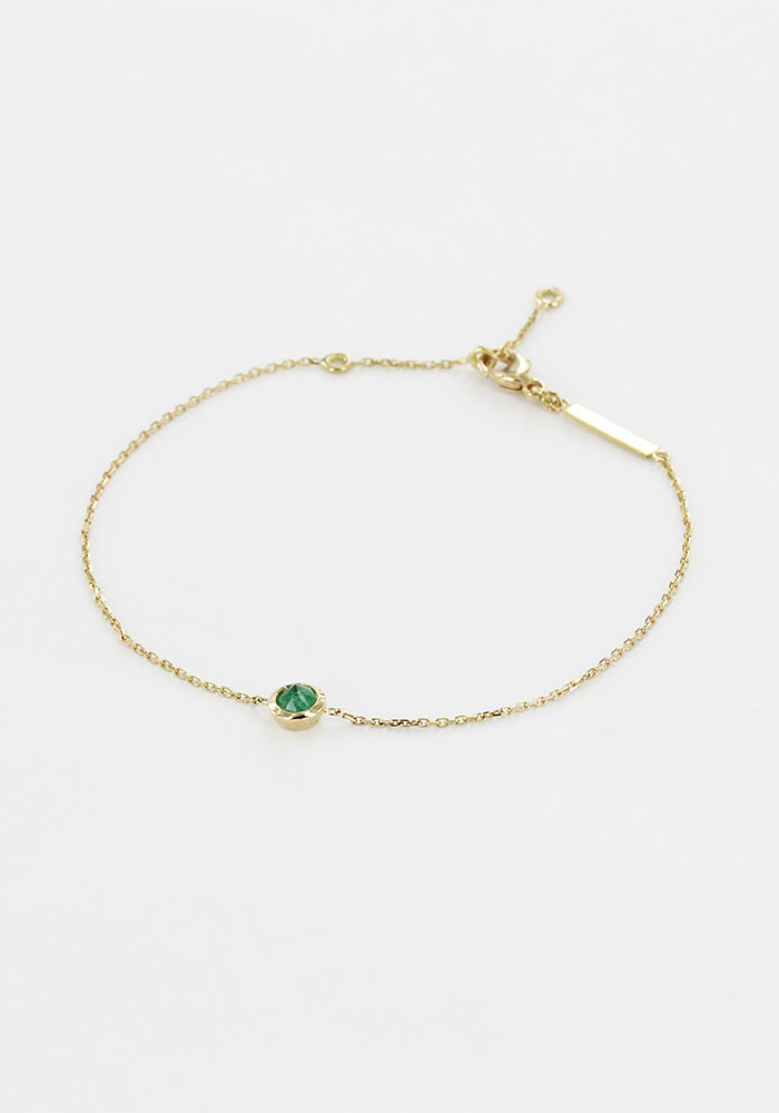 Bracelet Rose Emeraude