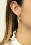 Wildberry earrings small Green