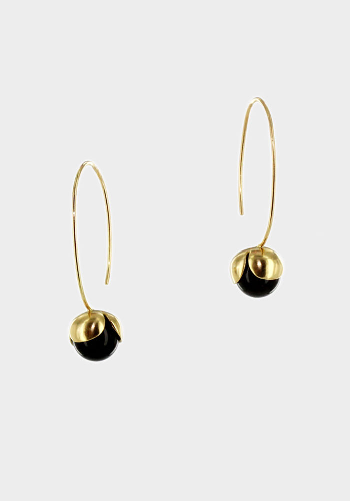 Noisette earrings Onyx