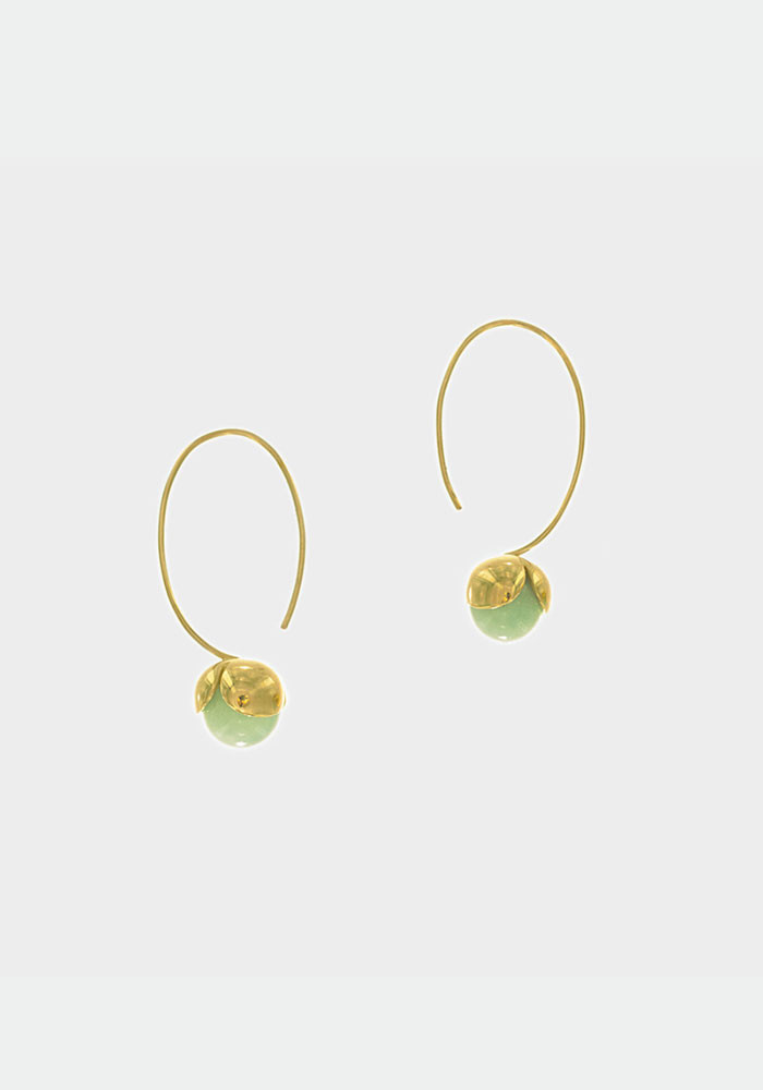Noisette earrings Aventurine