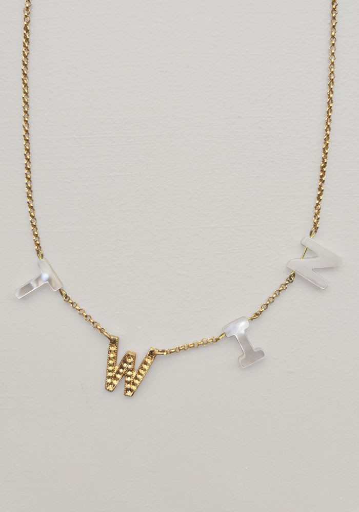 Twin necklace