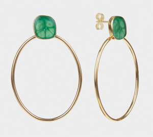firenze-earrings-maxi-mint